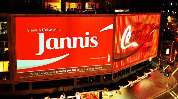 jannis australia billboard 604 share a coke