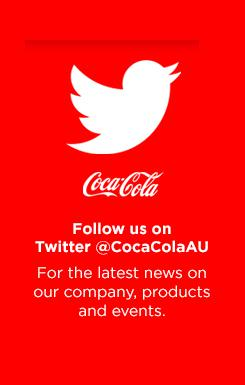 Join Coca-Cola Australia in a conversation on Twitter
