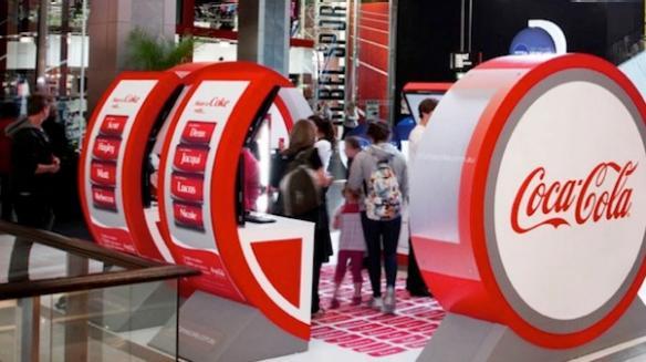 share a coke australia kiosk