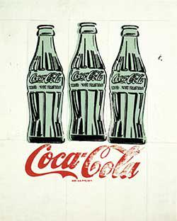 Warhol Coke Bottles from High Museum Exhibit