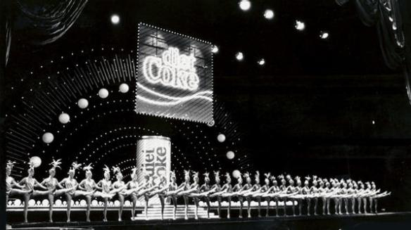 The Rockettes perform at Diet Coke's global premiere