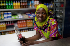 Coca-Cola's global commitment to enable the empowerment of women.