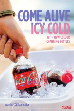 Coke to Come Alive for Summer