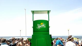 Sprite Showers - Article lead