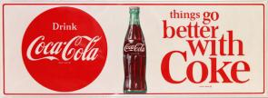 Things Go Better with Coke Slogan from 1963