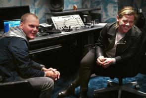 Avicii and Conrad Sewell