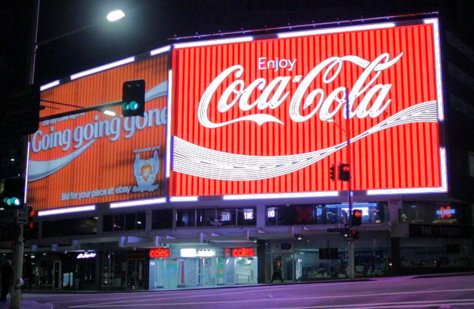 Kings Cross Coca-Cola Sign
