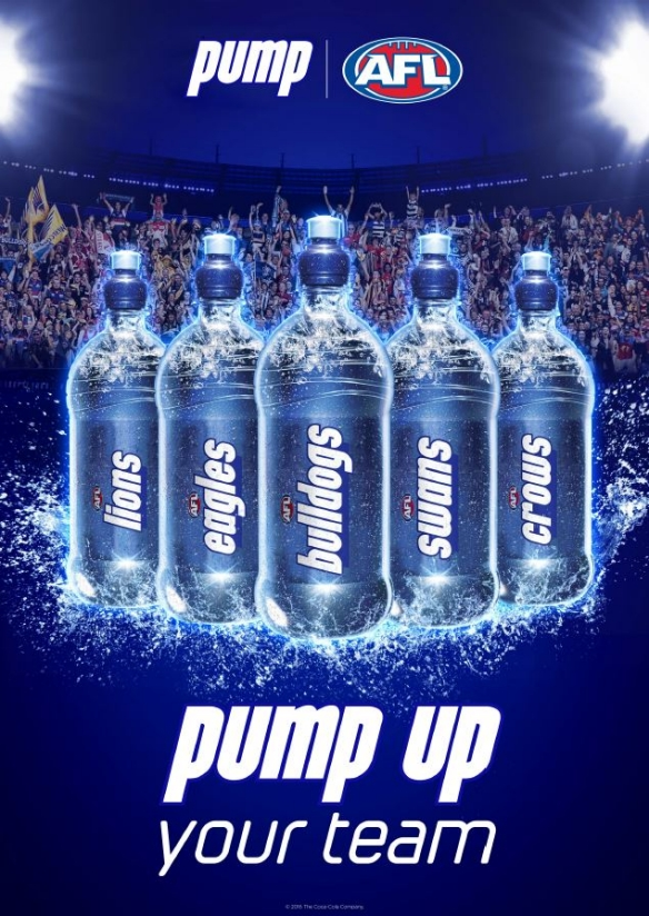 PUMP launches new 'PUMP up your team' AFL campaign